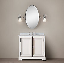 French Casement Single Vanity