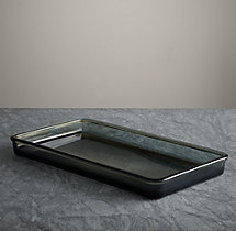 Pharmacy Smoke Glass Bath Tray