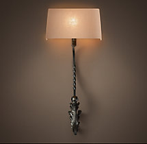 Architectural Baluster Sconce