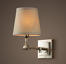 20TH C. Parisian Telescoping Single Sconce