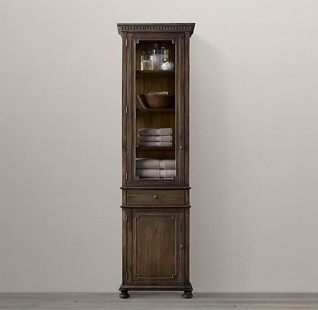 St James 84 Bath Cabinet, Restoration Hardware Bathroom Storage