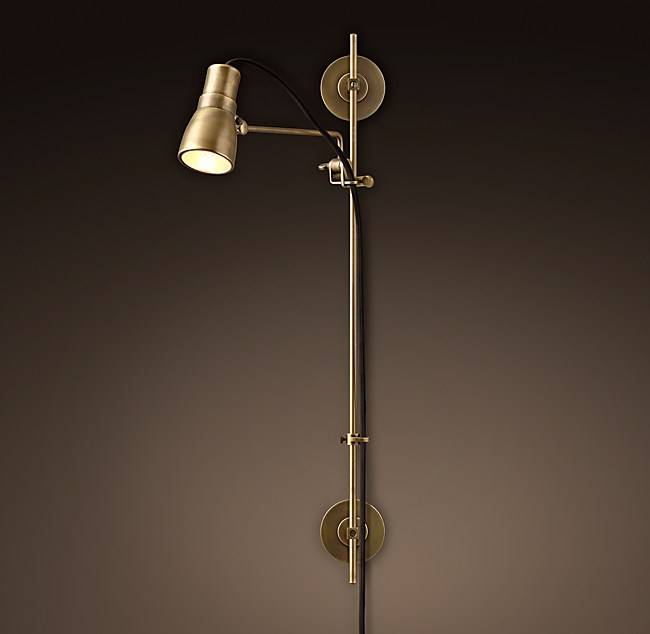Sewing Sconce