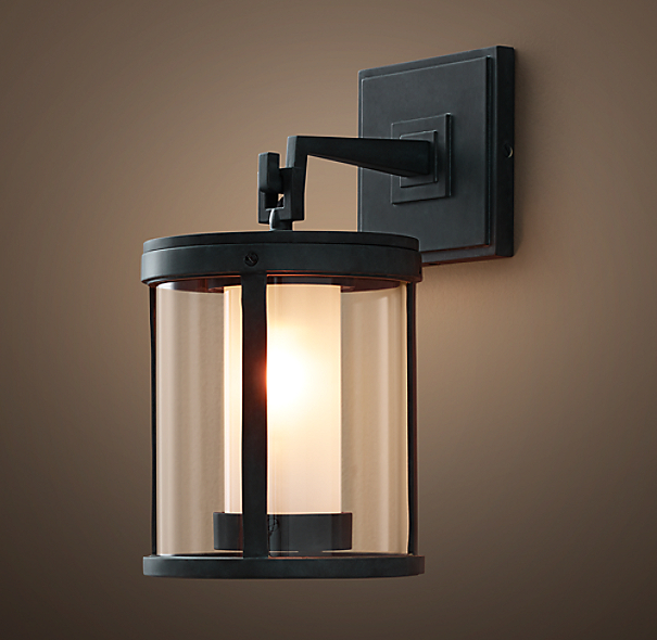 Restoration Hardware Outdoor Lighting Reviews: Quentin Pendant Sconce