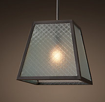 Modern Filament Wire Glass Pendant