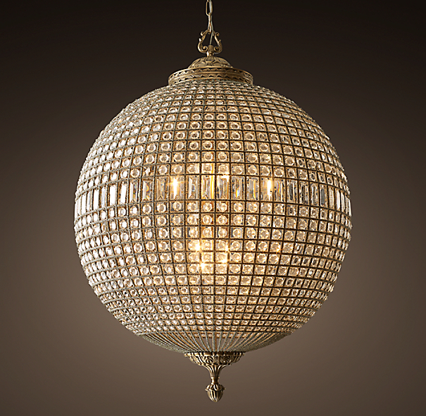 19th C Casbah Crystal Chandelier 36 Quot