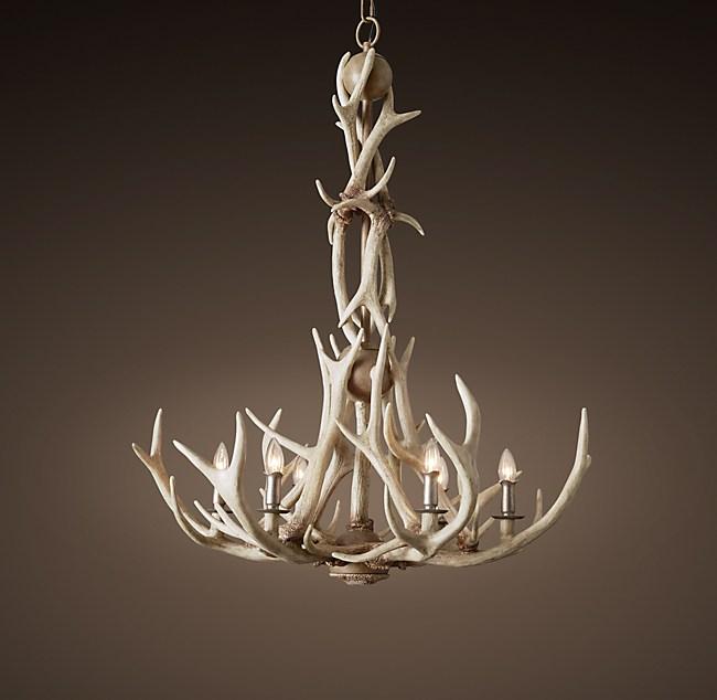 Adirondack antler chandelier aloadofball Images