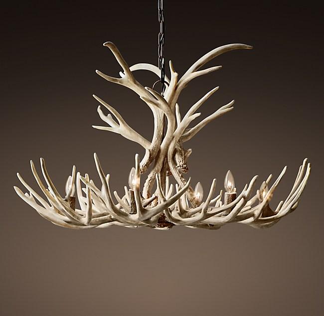 Aspen antler chandelier 40 aloadofball Image collections