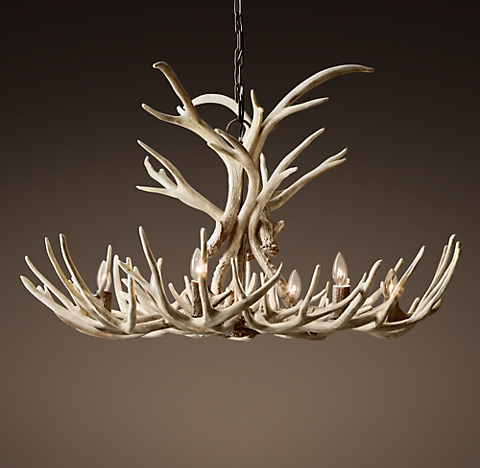 Aspen antler chandelier collection rh more finishes aspen antler chandelier aloadofball Images