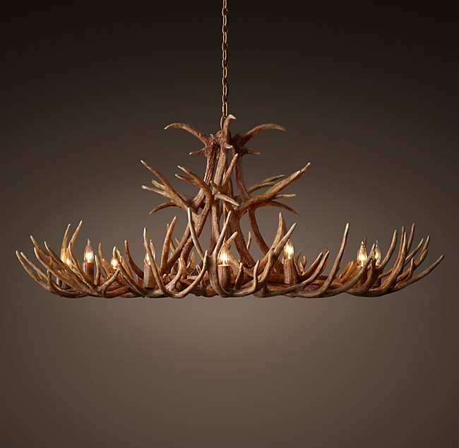 Aspen antler chandelier 60 aloadofball Images