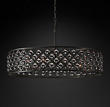 Spencer Hoop Chandelier 44""