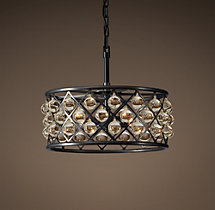 Spencer Hoop Chandelier 20""