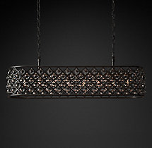 Spencer Rectangular Chandelier 61""