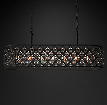 Spencer Rectangular Chandelier 51""
