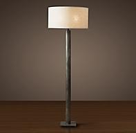 Cylindrical Column Floor Lamp