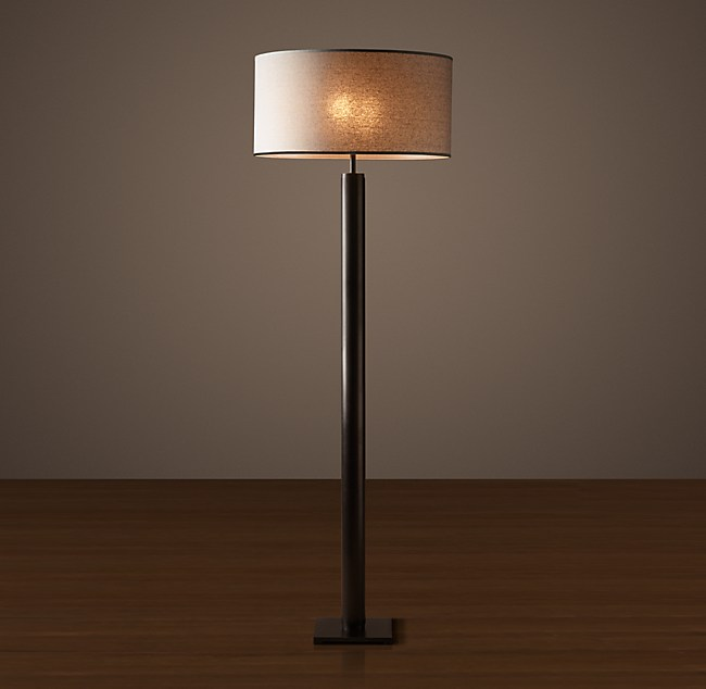 Cylindrical column floor lamp aloadofball Images