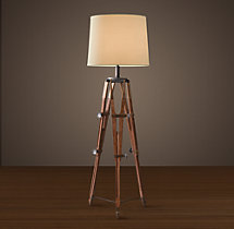 Surveyor's Tripod Floor Lamp
