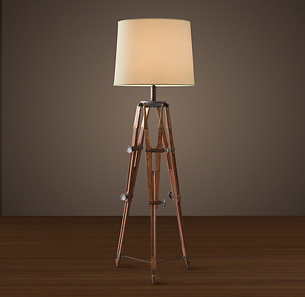 Surveyor S Tripod Floor Lamp