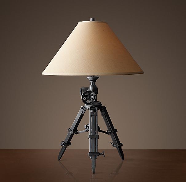 Royal Marine Tripod Table Lamp