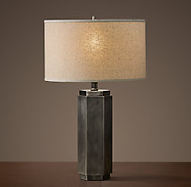 Hexagonal Column Accent Lamp