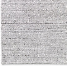Luxe Heathered Wool Rug Swatch - Silver