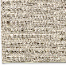 Braided Wool Rug Swatch - Marled
