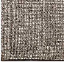 Rope Basket Weave Rug Swatch - Mocha