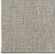 Rope Basket Weave Rug Swatch - Fog