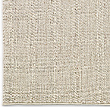 Rope Basket Weave Rug Swatch - Cream