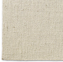 Looped Basket Weave Rug Swatch - Cream