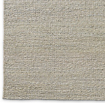 Braided Twist Jute Rug Swatch - Silver