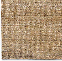 Braided Twist Jute Rug Swatch - Caramel