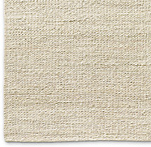 Braided Twist Jute Rug Swatch - Cream