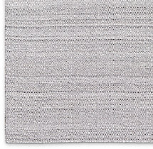 Double Diamond Flatweave Rug Swatch - Grey