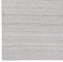 Double Diamond Flatweave Rug Swatch - Fog