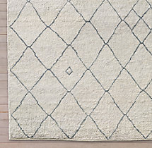 Miya Rug Swatch - Cream/Grey