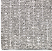 Cedro Moroccan Wool Rug Swatch - Grey