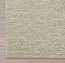 Chunky Textured Rug Swatch - Marled