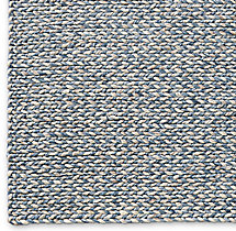 Chunky Braided Twist Rug Swatch - Blue