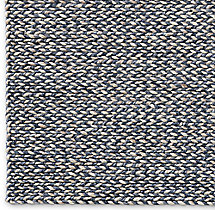 Chunky Braided Twist Rug Swatch - Charcoal