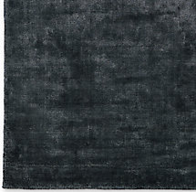 Lina Rug Swatch - Black
