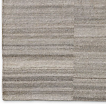 Shara Striated Rug Swatch - Charcoal