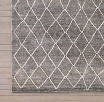 Arlequin Rug Swatch - Grey