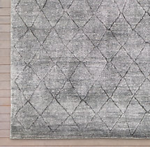Arlequin Rug Swatch - Charcoal
