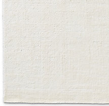 Lino Rug Swatch - White