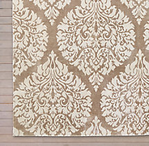 Damasco Rug Swatch - Latte