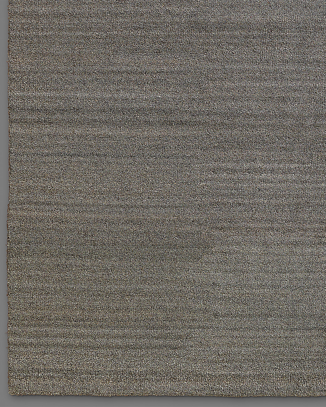Luxe Heathered Wool Rug - Mink