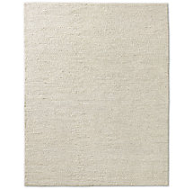 Braided Wool Rug - Cream