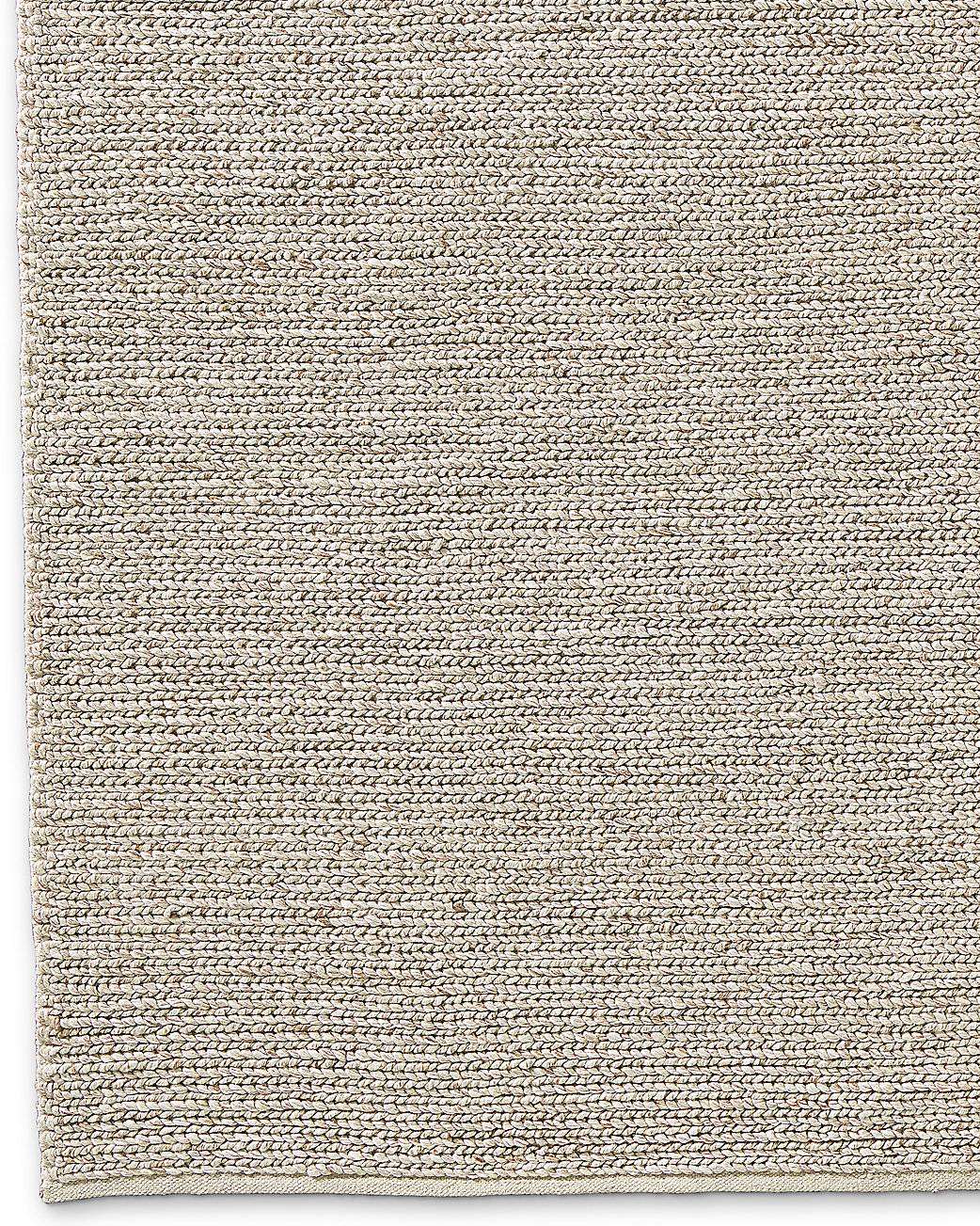 Braided Wool Rug - Marled