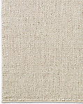 Rope Basket Weave Rug - Cream