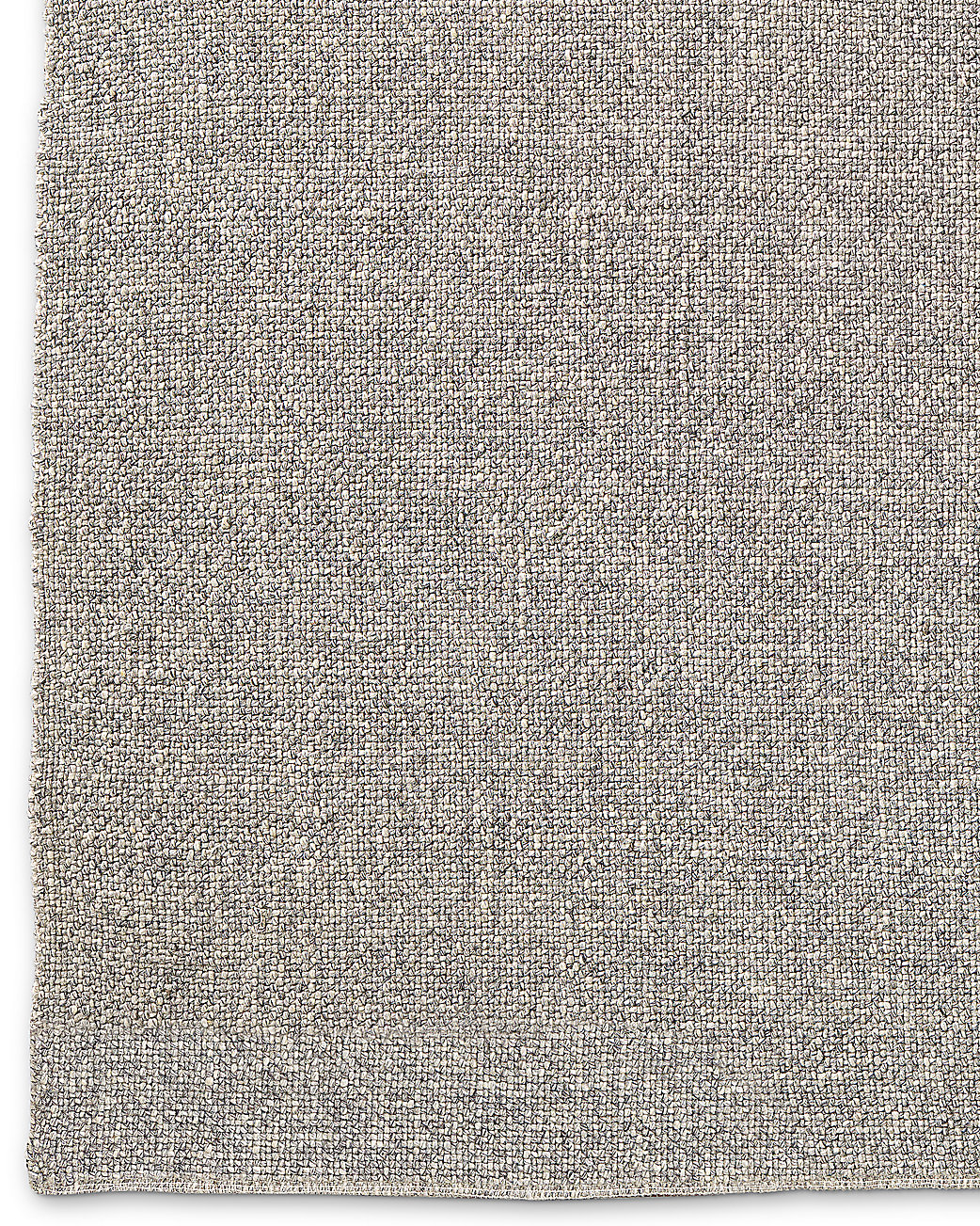 Looped Basket Weave Rug - Fog